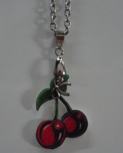 Cherry charm from Pussy's Bowtique