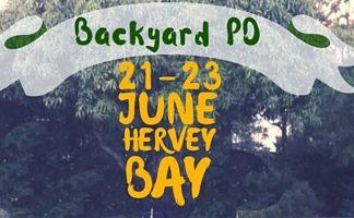Backyard PD in Hervey Bay