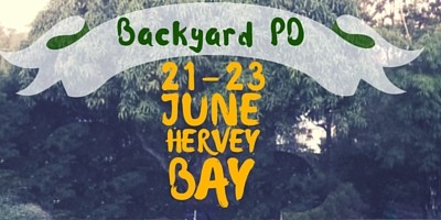 Backyard PD in Hervey Bay, a whole new approach to workshops