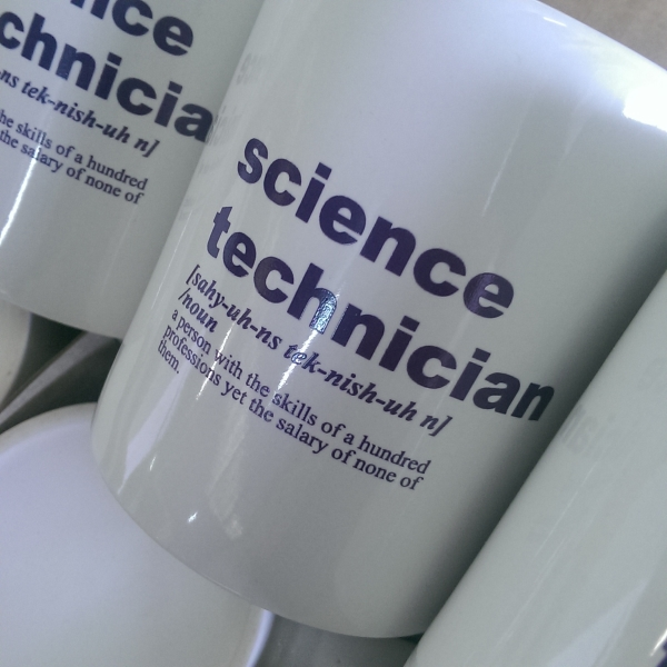 Dissection Connection science technician coffee mug at dissectionconnection.com.au
