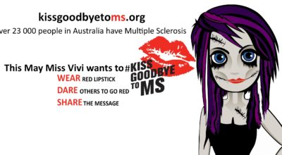 Miss Vivi wants to #KissGoodbyeToMS this World Multiple (MS) Sclerosis Day