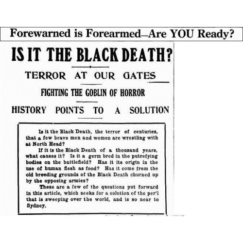 Forewarned is Forearmed--Are YOU Ready (1918, December 29). The Sun (Sydney, NSW 1910 - 1954), p. 8. Retrieved March 5, 2020, from httpnla.gov.aunla.news-article221412812